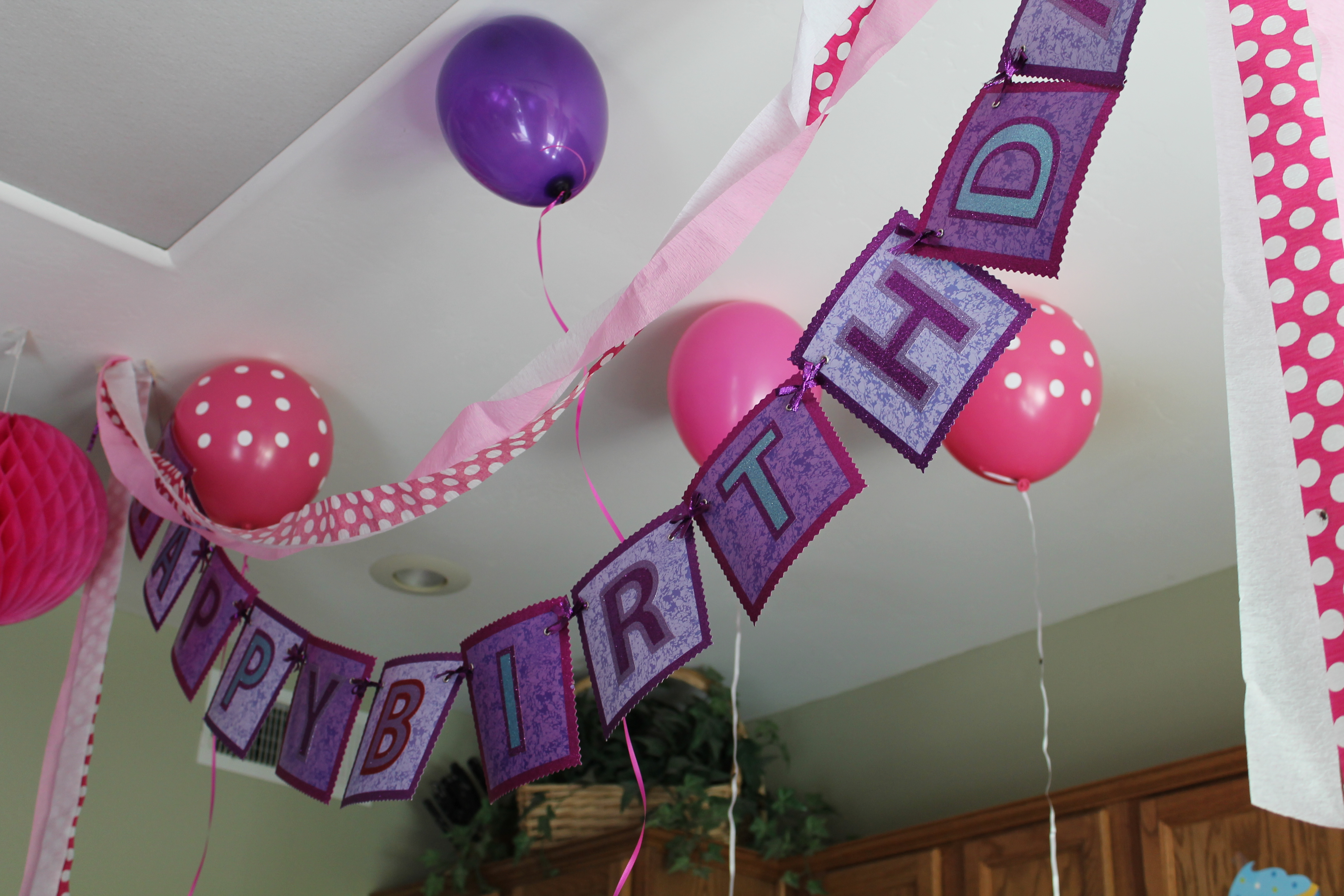 tags baby birthday party home decoration party decoration the house ...